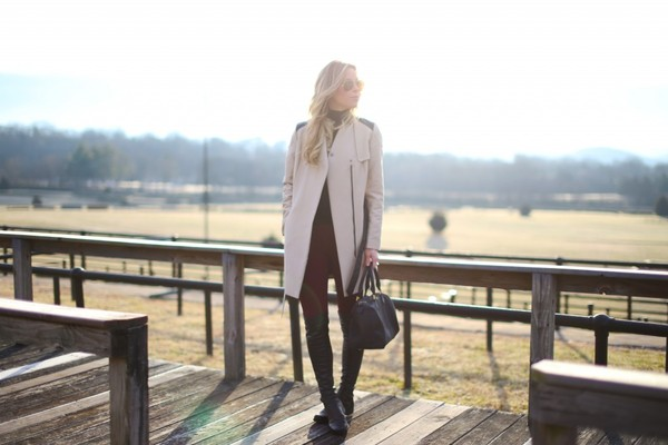 happily grey jacket sweater pants shoes bag