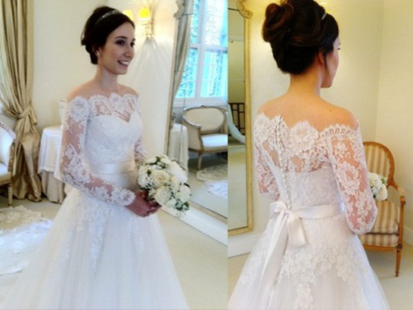 skirt lace wedding dress