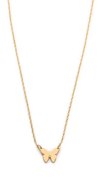 mini necklace gold jewels