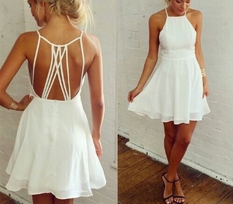 dress halter dress tumblr outfit