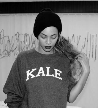 beyonce kale sweatshirt