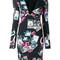 Roberto cavalli - floral print dress - women - polyamide/spandex/elastane - 42, polyamide/spandex/elastane