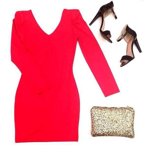 dress red dress little red dress fashions tyle style ootd sequins red fashion blogger style blogger blogger style blogger fashion clothes