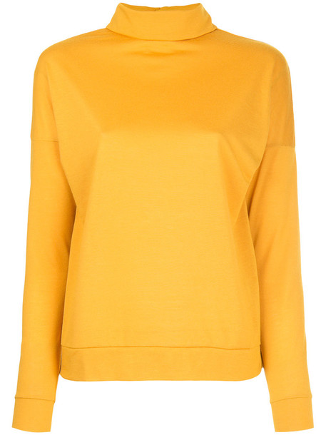 shirt style women yellow orange top