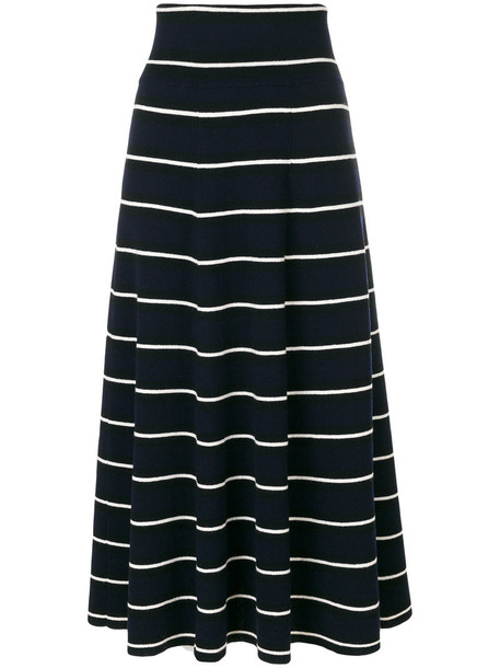 skirt women blue