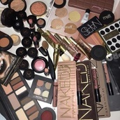 make-up,anastasia beverly hills,mac cosmetics,nars cosmetics,too faced