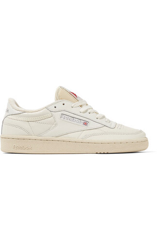 vintage sneakers leather white off-white shoes