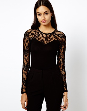 Warehouse | Warehouse Lace Body at ASOS