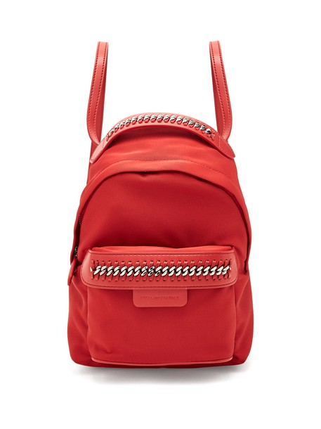 backpack red bag