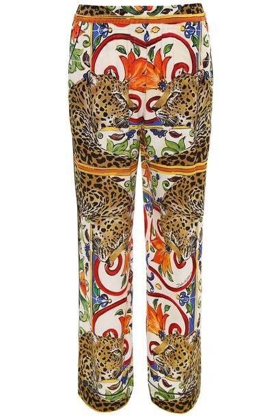 Dolce & Gabbana print leopard print pants