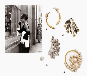 different cands blogger jewels pearl ear cuff