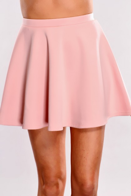 Pink High Waist Skater Skirt @ Amiclubwear Clothing Skirts Online Store:Long Skirt,Mini Skirts,Poodle Skirt,Plaid Mini Skirt,Micro Mini Skirt,Jeans Skirts,Black Mini Skirt,Up Skirt,Short Skirts,Leather Skirts,Pencil Skirts,High Waist Pencil Skirt,Pleated