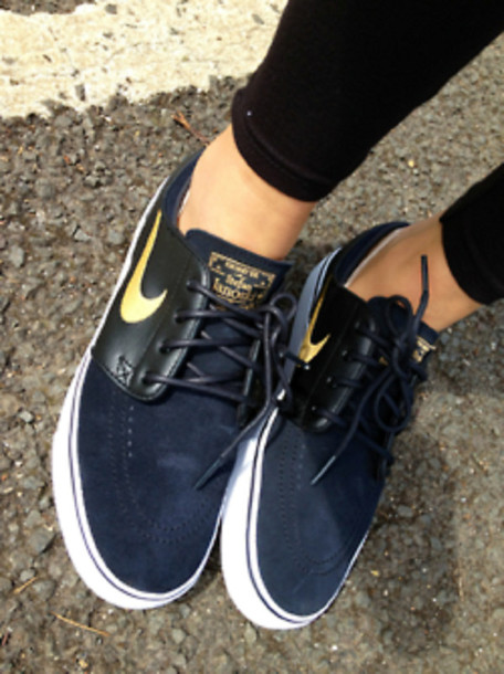 shoes nike boat shoes nike sneakers nike shoes sneakers nike sb nike sb gold  navy janoski s d7ff78ded