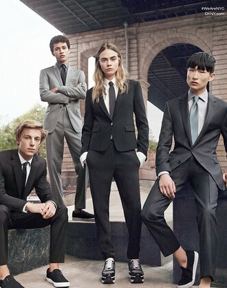 cara delevingne sneakers dkny tailoring mens suit blazer boyish unisex shoes prom menswear asos