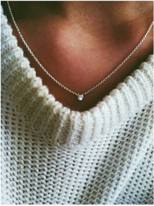 elsa peretti diamonds by the yard pendant in sterling silver tiffany co - Elsa Peretti Color By The Yard Ring
