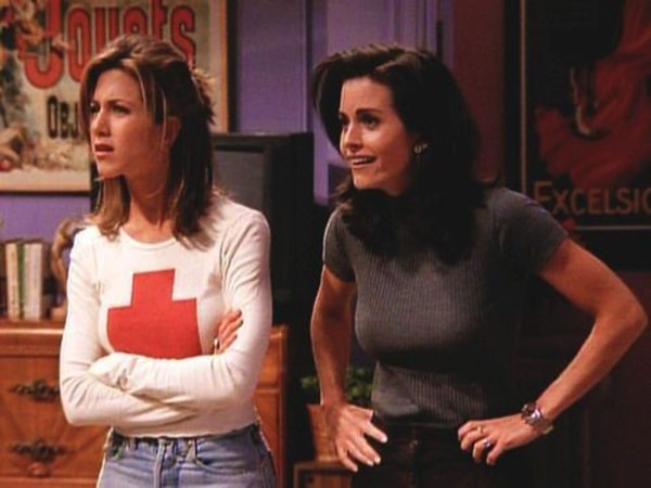 shirt rachelgreen jennifer aniston friends TV show
