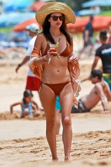 alessandra ambrosio swimwear bikini