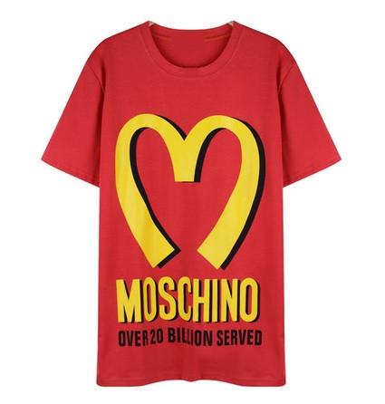 MUCHSKINO McDonald's Red Print T-shirt – Glamzelle