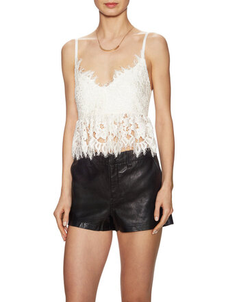 top lace top tank top summer clothes