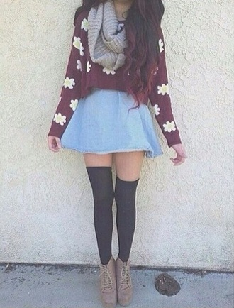 winter clothes cotton yellow burgundy grape