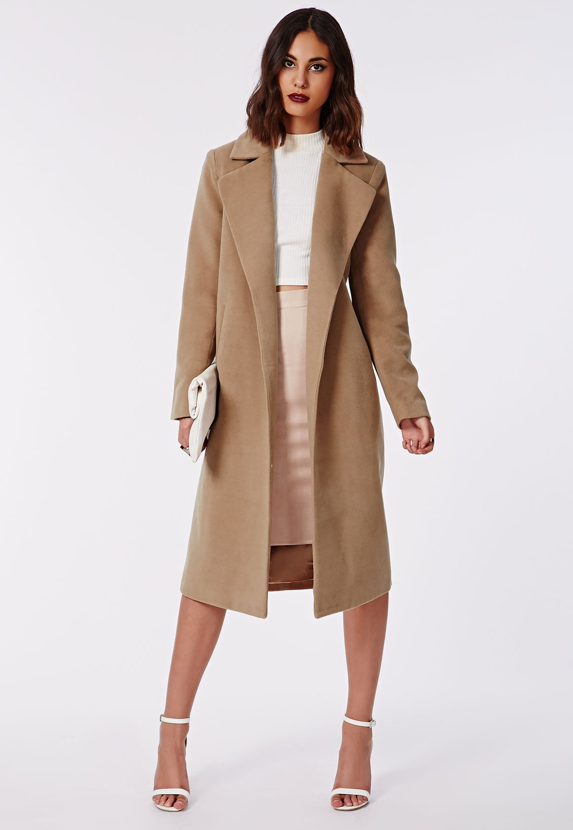 Images of Long Camel Coat - Reikian