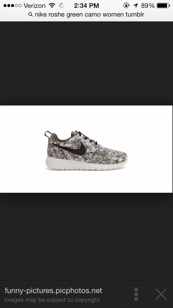 shoes nike roshe run camouflage swag luxury