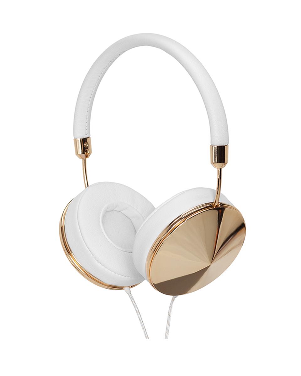 Taylor headphone gold white
