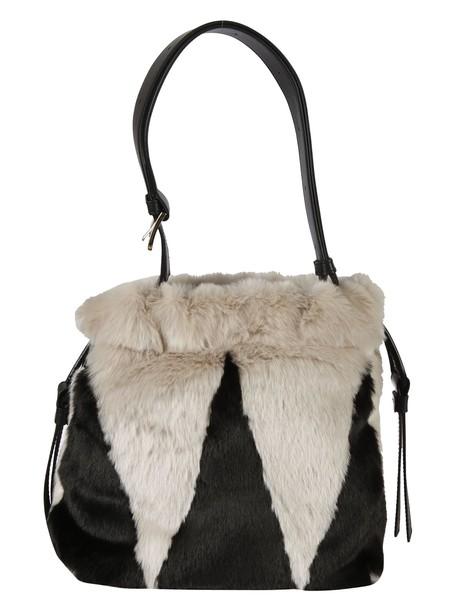 Furla bag shoulder bag white black