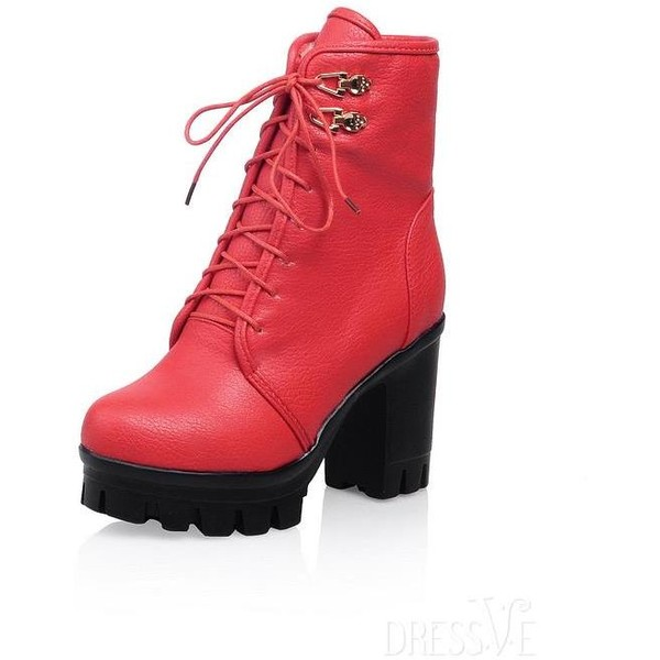 Multi-colour PU Martin Boots