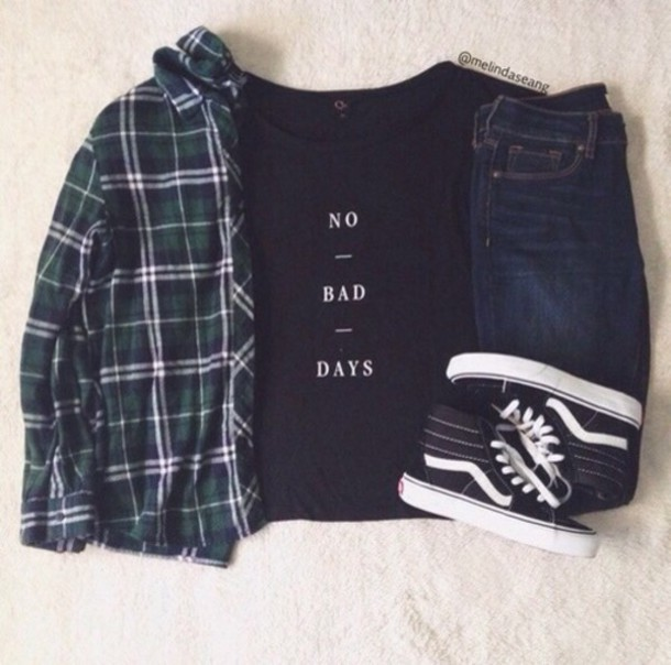 shirt no bad days graphic tee graphic tee graphic shirt no bad days t-shirt black shirt skirt