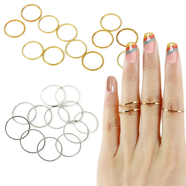 12 Bands Ring Set | Outfit Made