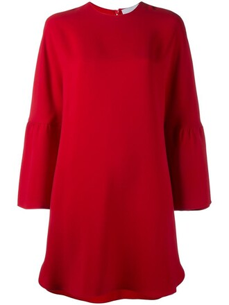 dress mini dress mini women silk red