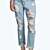 Sara Relaxed Fit Boyfriend Light Wash Jeans