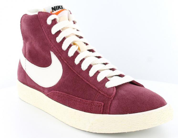 Scarpe Nike Blazer Bordeaux