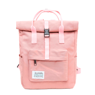 Clever Pale Cute College Backpack