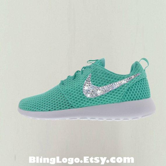 96f5d2910e9c8b Bling Nike Shoes - Nike Roshe Run Shoes With Swarovski Crystal ...