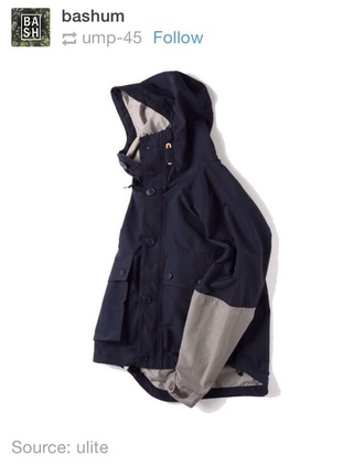 jacket men's navy bone stone windbreaker