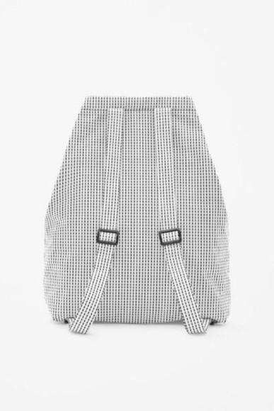 bag dots backpack patterened