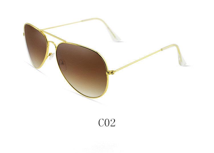 Vintage Reto Gold Frame Women Designer Sun Glasses Summer ...