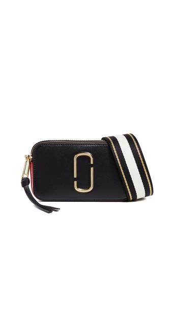 Marc Jacobs Snapshot Camera Bag in black / red