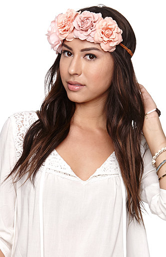With love from ca tara flower crown at pacsun.com
