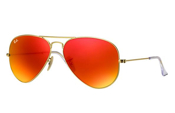 ray ban 58 14 aviators  Ban RB3025 112/69 58-14 Aviator Flash Lenses Sunglasses