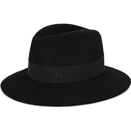 MAISON MICHEL - Henrietta wool hat | Selfridges.com