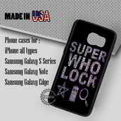 phone cover,supernatural doctor who sherlock