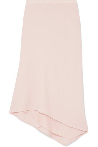 NARCISO RODRIGUEZ skirt midi skirt midi wool pink