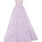 Feather strapless ball gown | moda operandi