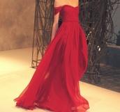 dress,red dress,prom dress,red prom dress,red maxi dress,formal,prom,red,chiffon dress,sweetheart dress,chiffon red dress,long dress,evening dress,strapless