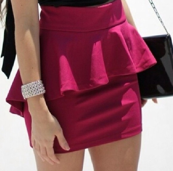 skirt red skirt pink skirt burgundy