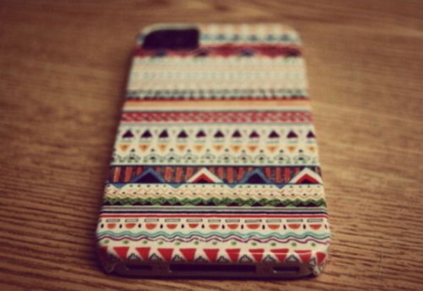 iphone iphone cover tribal indian pattern jewels