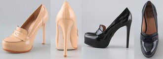 shoes pour la victoite yves saint laurent